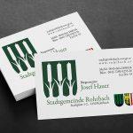 municipal business card design