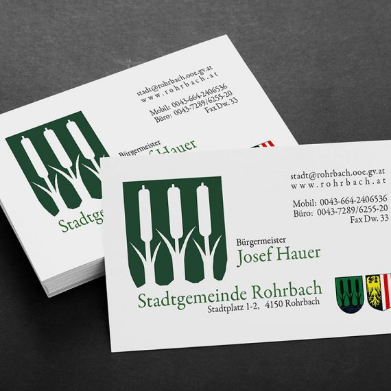 Business cards – Rohrbach