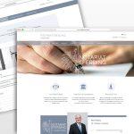 Apricity Solutions portfolio Notariat Eferding Web design