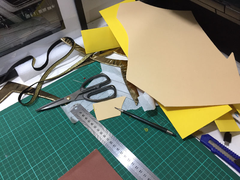 Apricity girl costume construction1