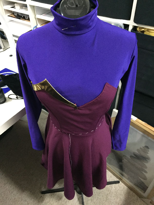 Apricity girl costume construction2