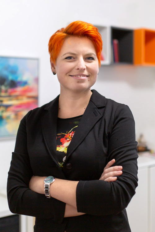 Marina Hauer, Owner of Apricity Studio